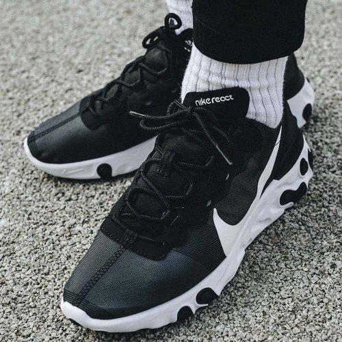 Nike React 55 Męskie Czarne (BQ6166 003)