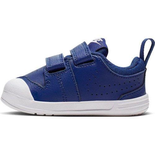 nike pico 5 (tdv) niebiesko-białe