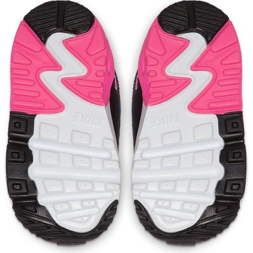 nike air max 90 leather (td) różowo-szare
