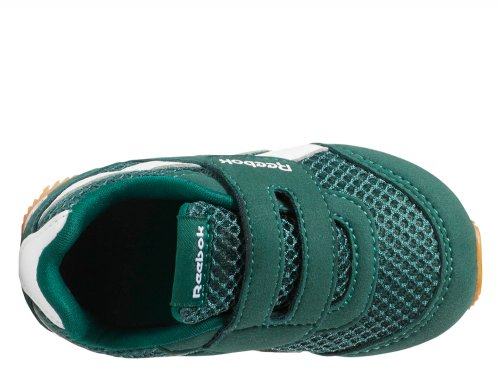 reebok royal classic jogger zielono-białe