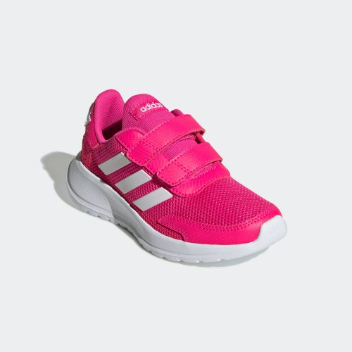 adidas tensaur run c różowo-białe