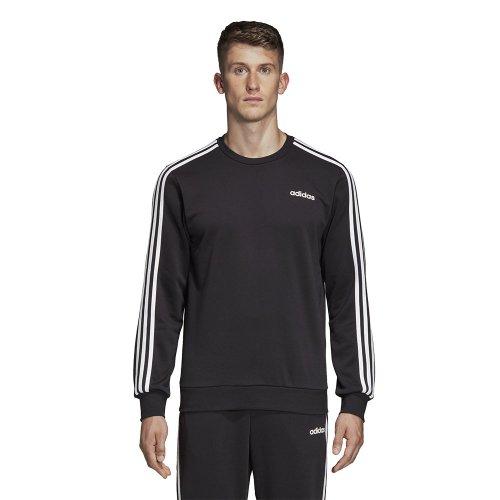 adidas 3 Stripes Crew czarno biała