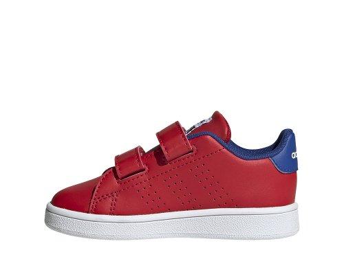 adidas advantage i czerwono-niebieskie