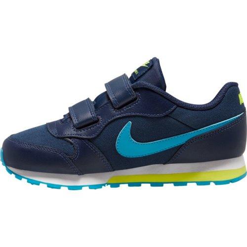 nike md runner 2 (psv) granatowo-niebieskie