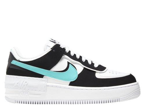 Nike Wmns Air Force 1 Shadow Damskie Białe (CZ7929-100)