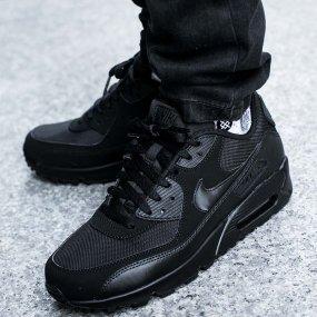 Buty nike air max 90 triple black całe czarne Zdjęcie na