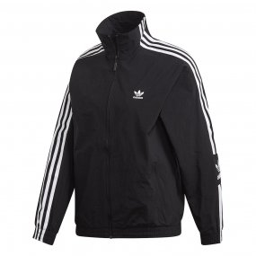 adidas lock up track jacket damska czarna