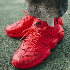 adidas fyw s‑97 w czerwone damskie (ee5329)