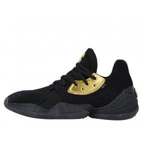adidas harden vol.4 core black gold metallic (ef8648)