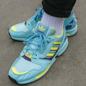 """adidas zx 8000 """"aqua"""" męskie niebieskie (eg8784)"""