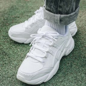 asics gel‑bnd white/white