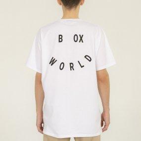 worldbox white smile tee (wbko‑smile‑wht)