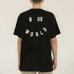 worldbox black smile tee (wbko‑smile‑blk)