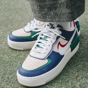 nike w air force 1 shadow (ci0919‑400)
