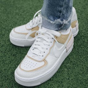 nike w air force 1 shadow se damskie szare (ck3172‑002)