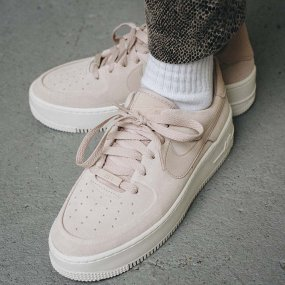 nike air force 1 sage low damskie różowe (ar5339‑201)