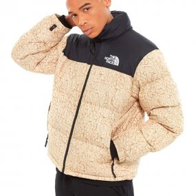 the north face m 1996 rtro npse jkt tnf white sherpa print