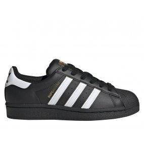 adidas superstar j młodzieżowe czarne (ef5398)