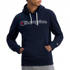 champion satin script logo hoodie (214183‑bs538)