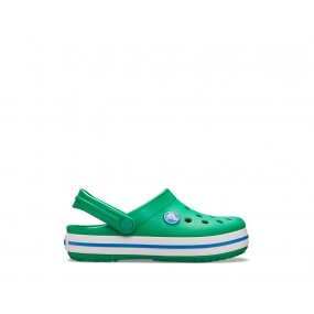 crocs crocband clog dziecięce zielone