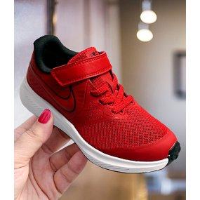Buty dziecięce Nike Star Runner 2 (TDV) czarno czerwone