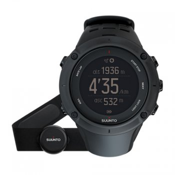 zegarek suunto ambit 3 peak black gps + hr