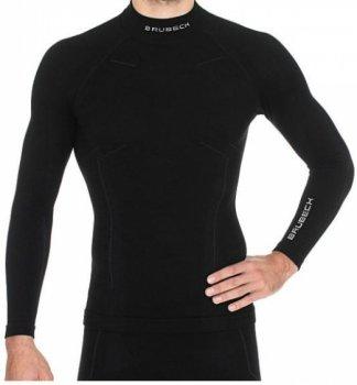 koszulka termoaktywna brubeck extreme wool czarna