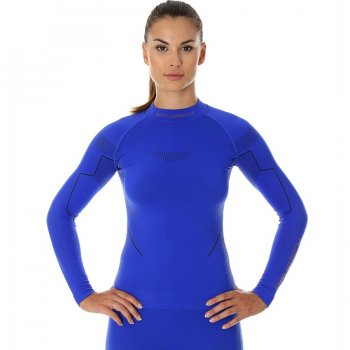 brubeck bluza damska thermo kobaltowy