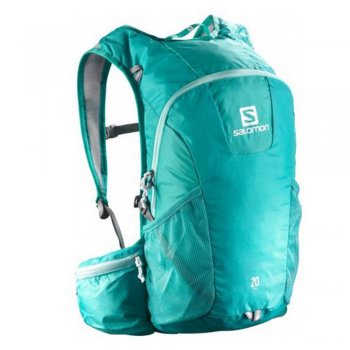 plecak salomon trail 20 teal blue