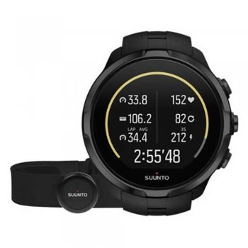 zegarek suunto spartan sport wrist hr all black + belt