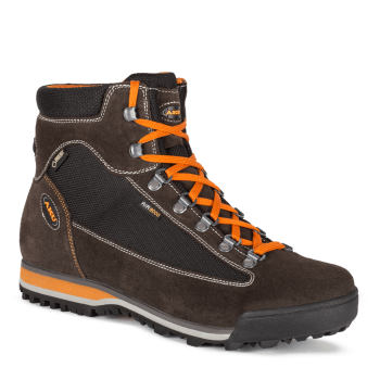 buty aku m's slope micro gtx, black/ orange w