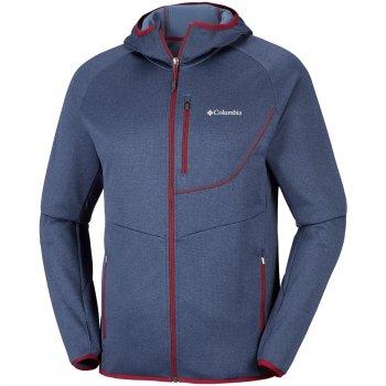 bluza columbia drammen point™ hooded fleece dark mount