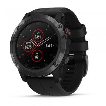 zegarek garmin fenix 5x plus sapphire czarny