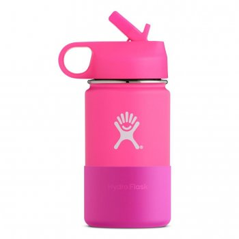 kubek hydro flask 12 oz kids‑flamingo
