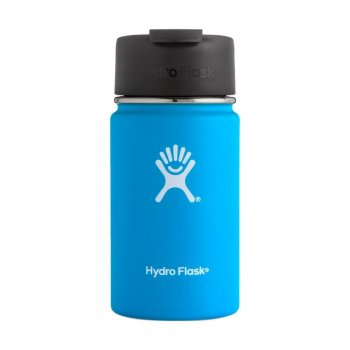 kubek hydro flask 12 oz wide mouth with flip lid‑pacific (354 ml)