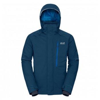 kurtka jack wolfskin exolight icy jacket men poseidon blue