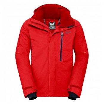 kurtka jack wolfskin exolight icy jacket men fiery red