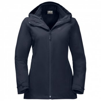 kurtka jack wolfskin norrland 3in1 w midnight blue
