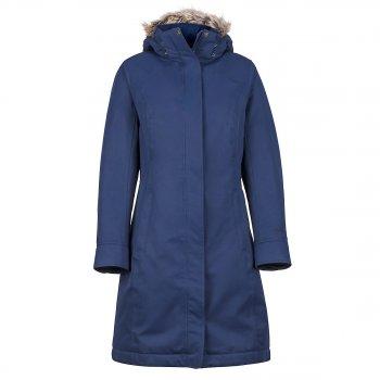 kurtka marmot wm's chelsea coat  arctic navy