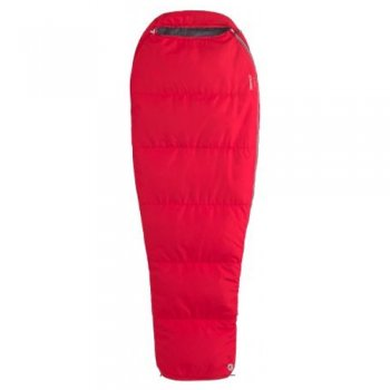 Śpiwór marmot nano wave 45 long team red