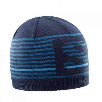 czapka salomon flatspin short beanie night sky/m