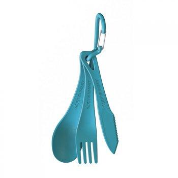 zestaw sztuĆców kempingowych sea to summit delta cutlery set