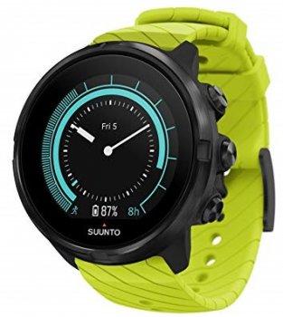 zegarek suunto 9 g1 lime czarno‑zielony