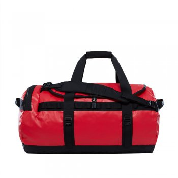 torba the north face base camp duffel ‑ m/tnf red/tnf blk