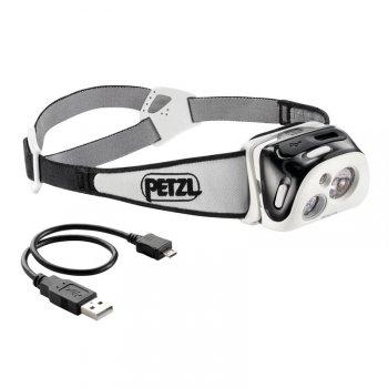 petzl reactik performance headlamp biało‑czarna