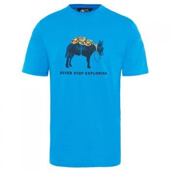 koszulka the north face m tansa tee bomber blue/urb