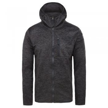 bluza the north face canyonlands hoodie tnf dark grey h