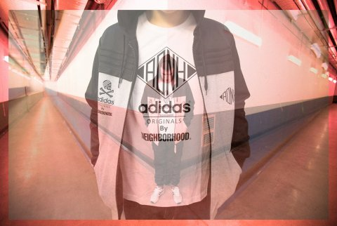 adidas x neighborhood mini lookbook