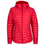 kurtka marmot wm's electra jacket, tomato/team red