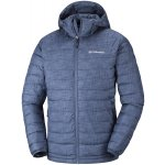 kurtka columbia powder lite hooded jacket m szaro-niebieska